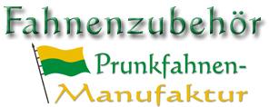 Online-Shop der Prunkfahnen-Manufaktur-Logo